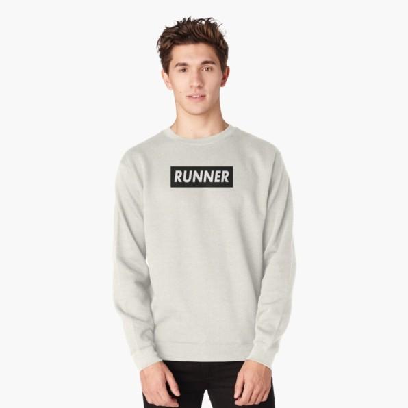 RUNNER Pullover Sweatshirt